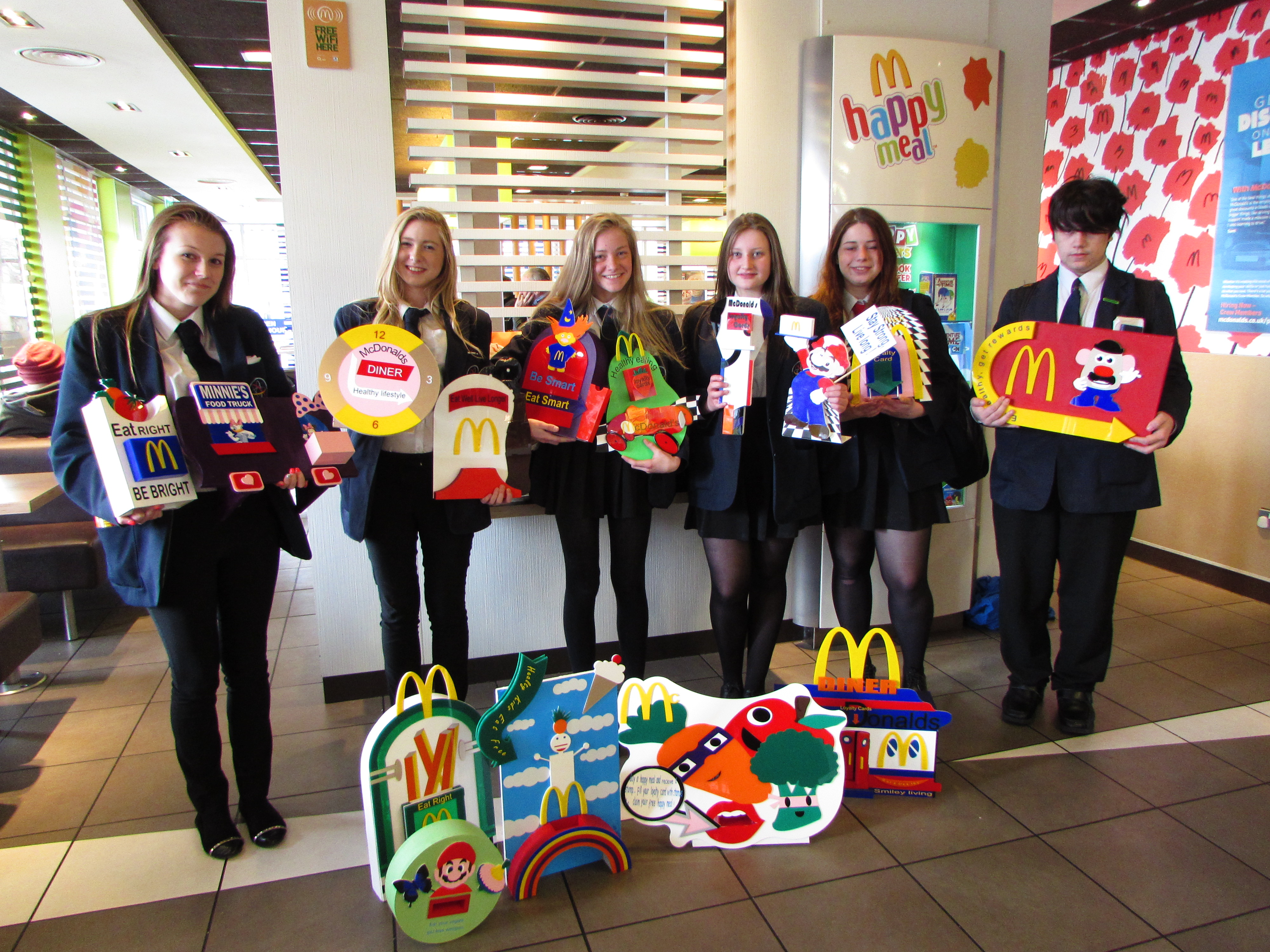 mcdonalds headquarters interested in the work of the